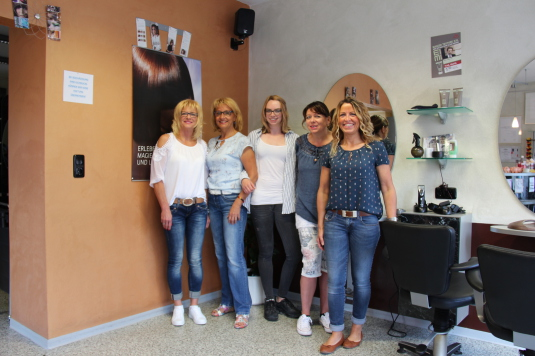 Friseur Herrmann in Schlüsselfeld Teamfoto